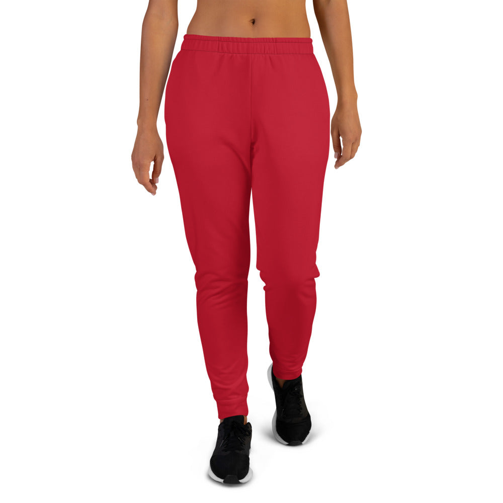 Red Joggers for Women