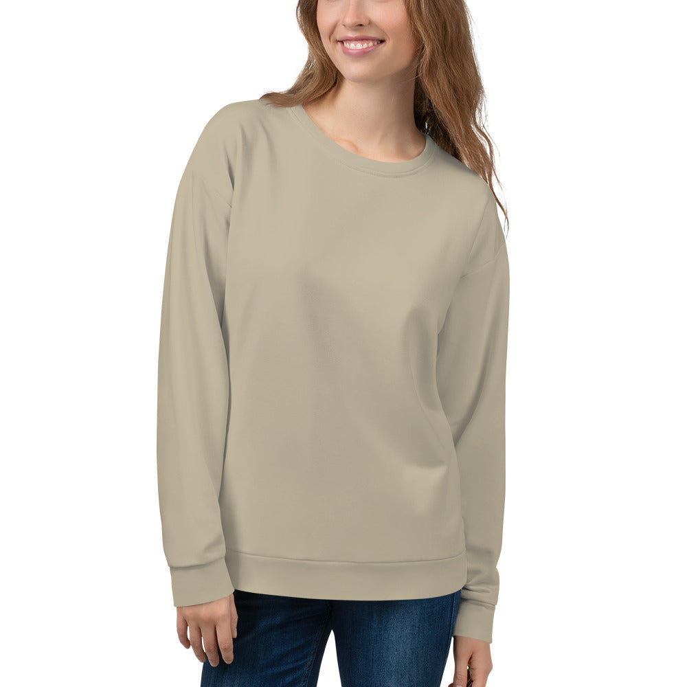 Light Beige Sweatshirt for Women