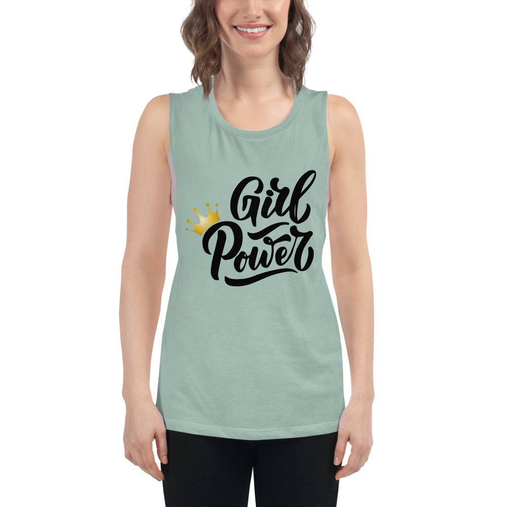 Girl Power Tank Top for Women's Workout