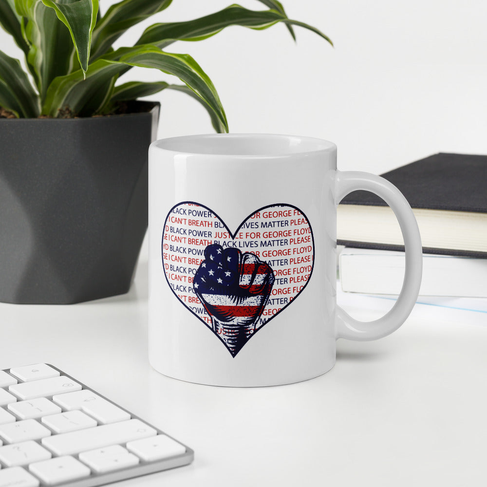 JUSTICE FOR GEORGE FLOYD Coffee Mug