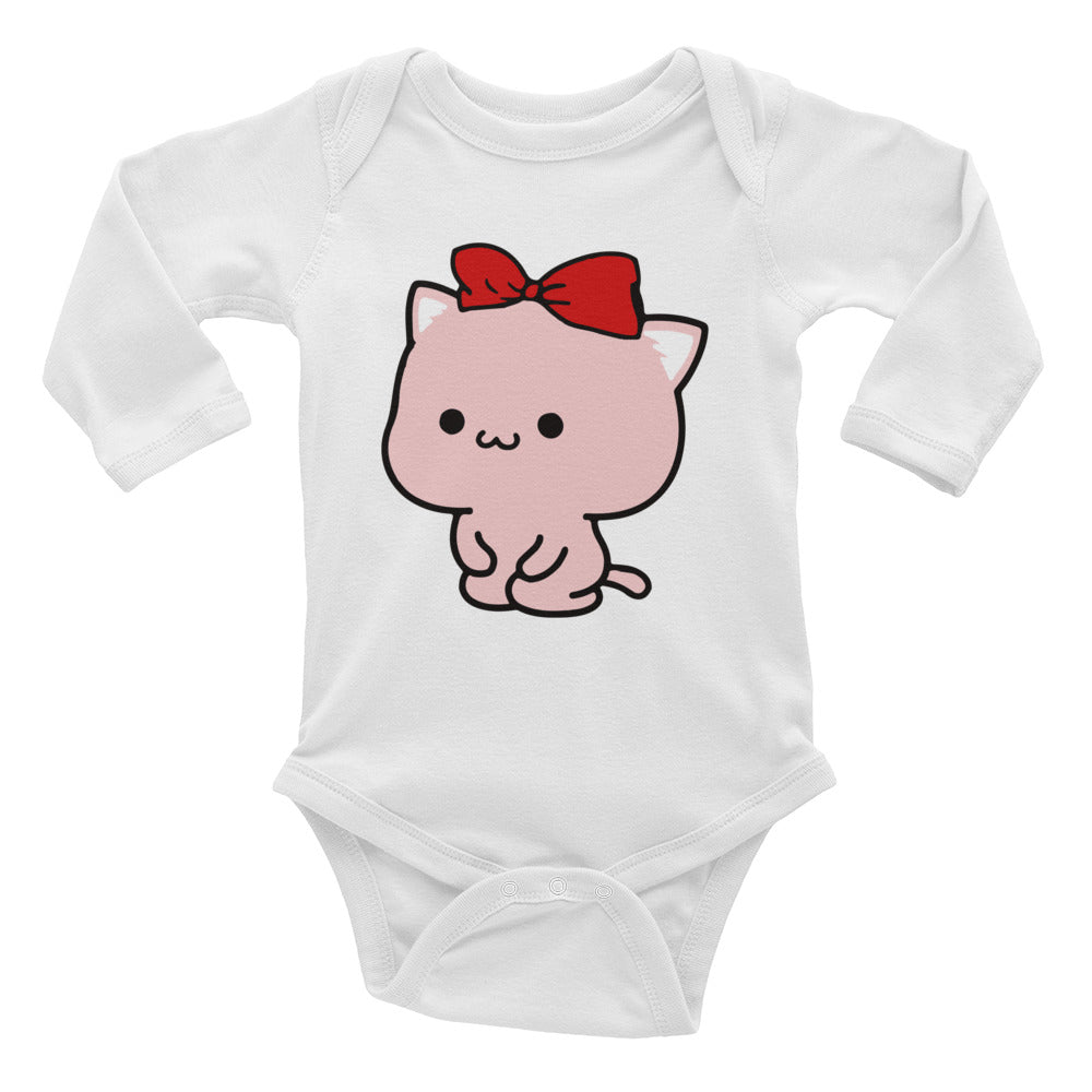 Cute Mini Bodysuits for Baby Girl white