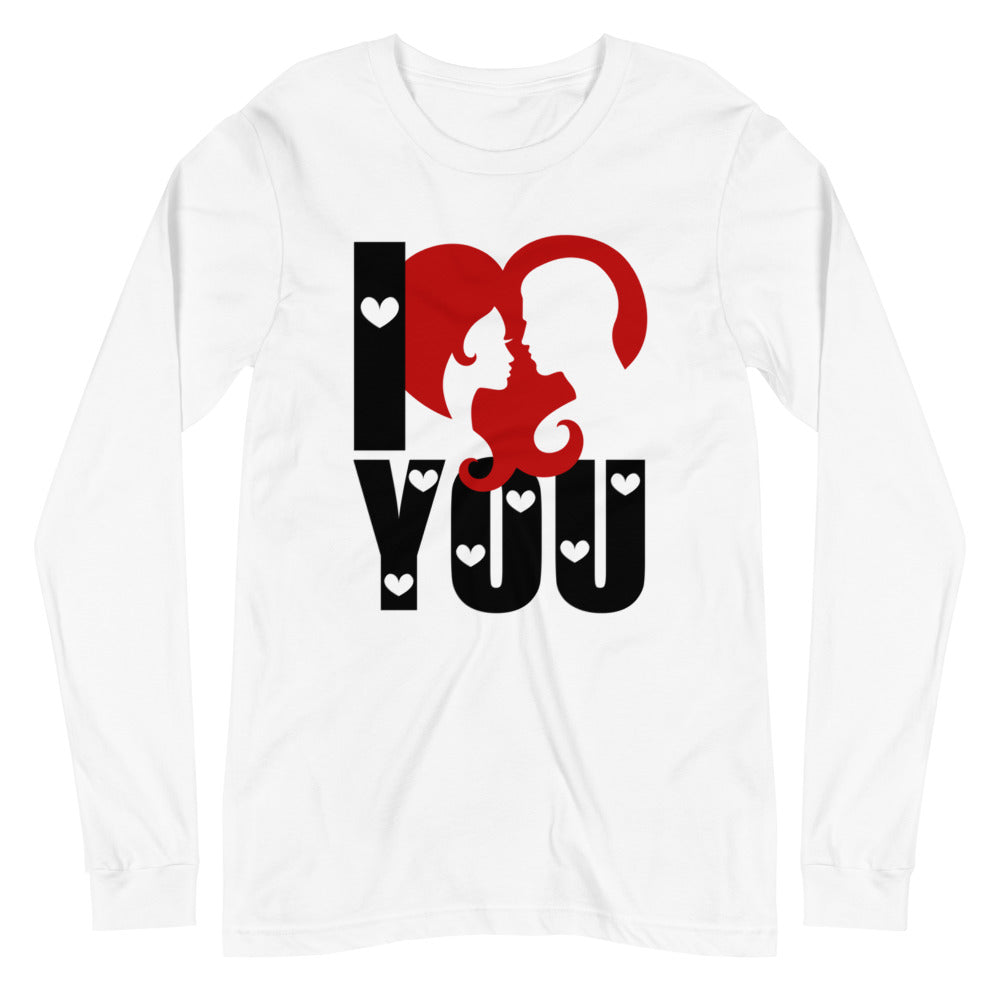 I Love You Valentine's Day Long Sleeve T-Shirt