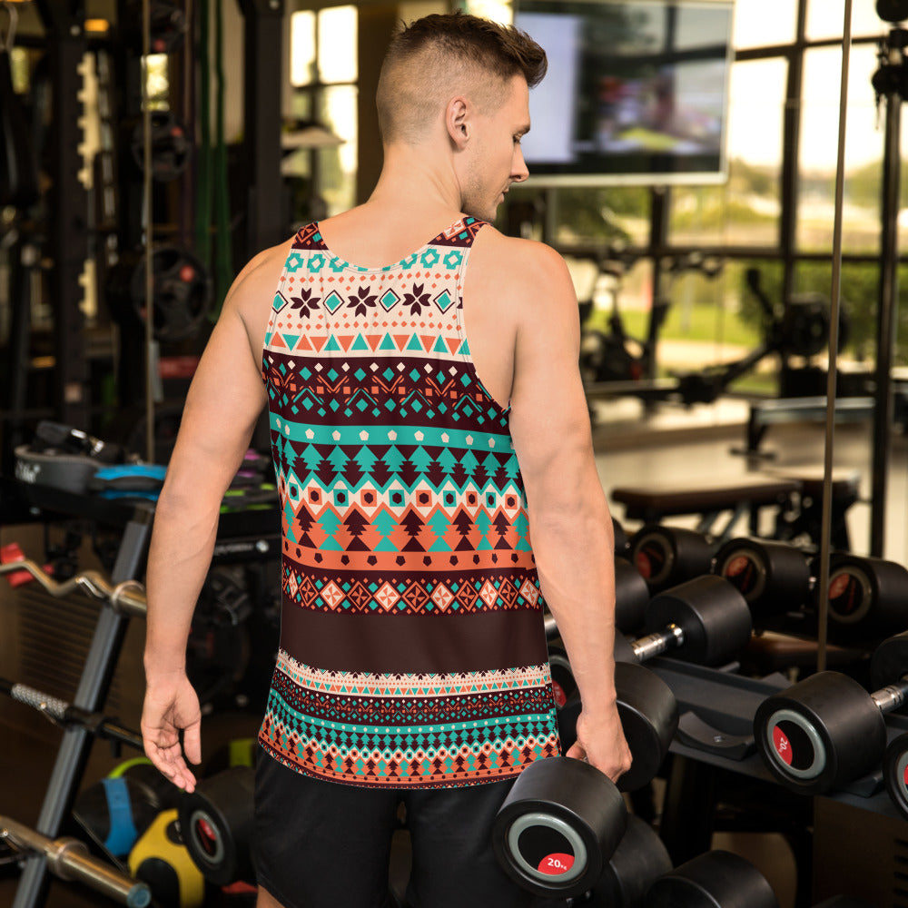 Ethnic Pattern Unisex Tank Top