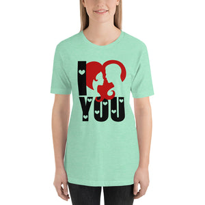 Valentine's Day Heather Mint T-Shirt