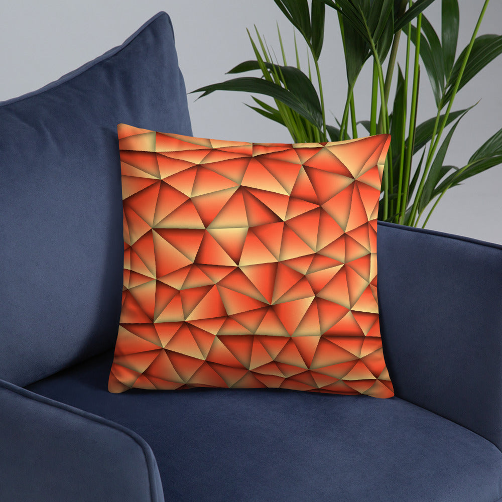 Abstract Print Throw Pillows