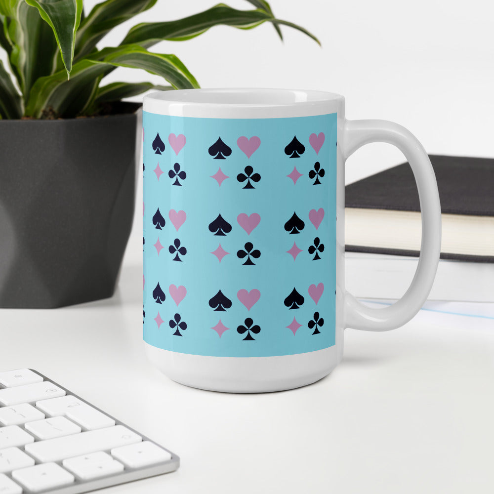 Poker Pattern Coffee Mug
