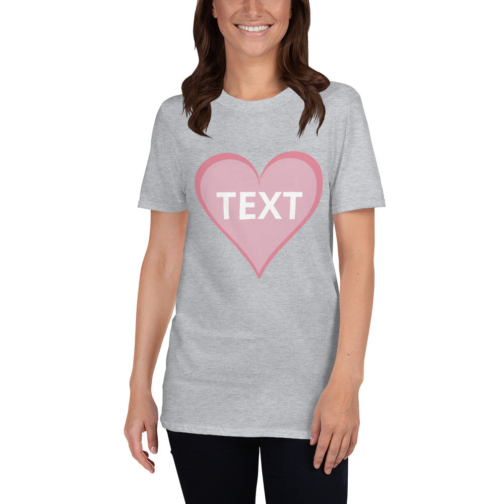 Custom Valentine Day T-Shirt Women