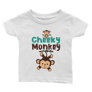 Cheeky Monkey Infant Tee
