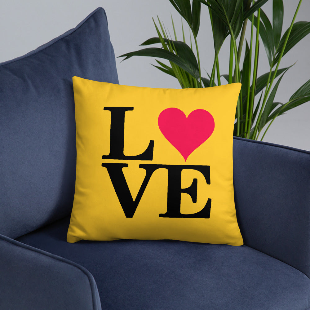 New Year Love Double Sided Throw Pillows