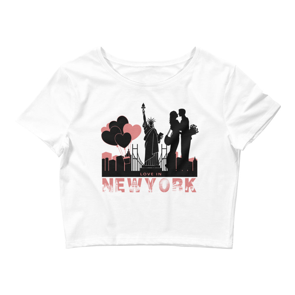 New York Love Crop Top