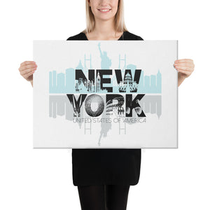 new york city canvas
