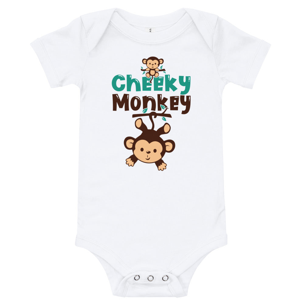 Cheeky Monkey Baby Bodysuit