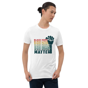 Black Lives Matter T-Shirt Men