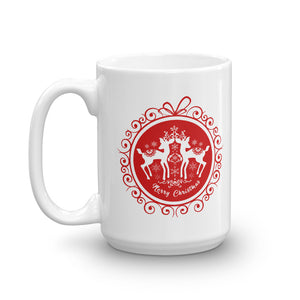Christmas coffee mugs ball design