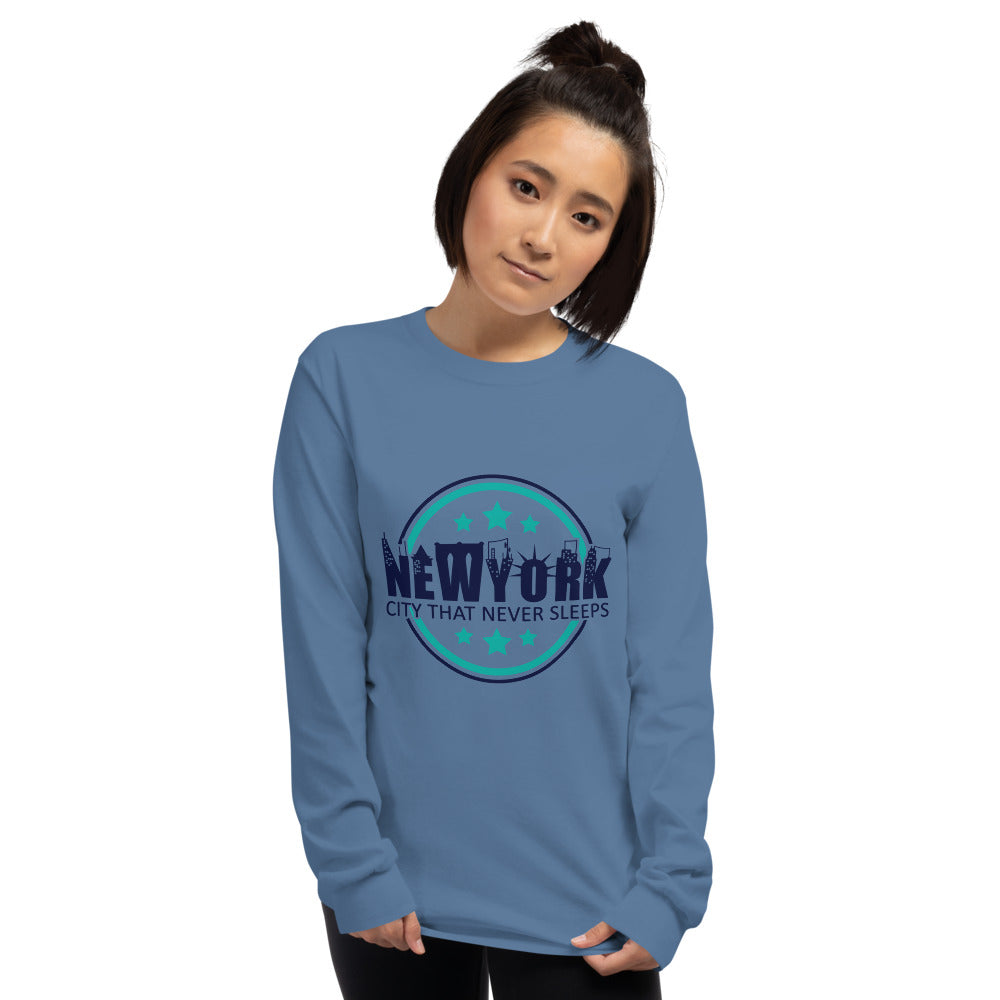 NEW YORK Long Sleeve Shirt for Women