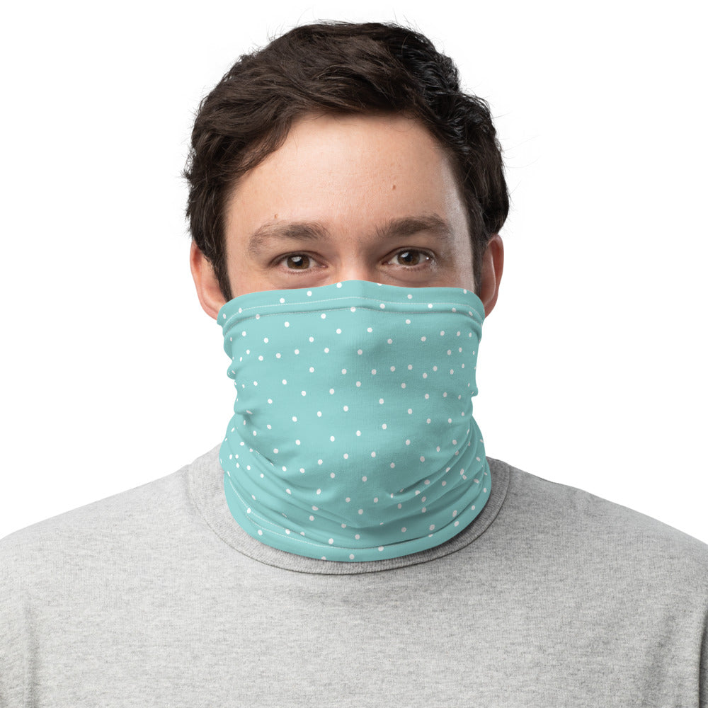 Blue Dot Mace Mask Neck Gaiter