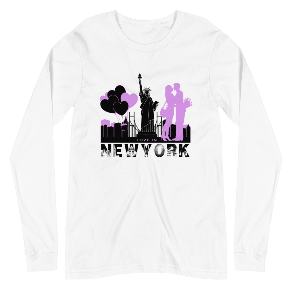 New York Valentine's Day Long Sleeve T-Shirt Men