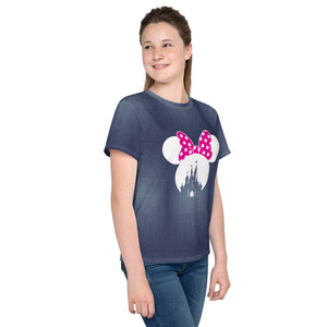 Minnie Mouse Denim T-Shirts for Girls