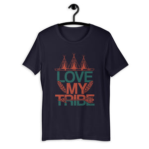 Vintage Love My Tribe T-Shirt for Men