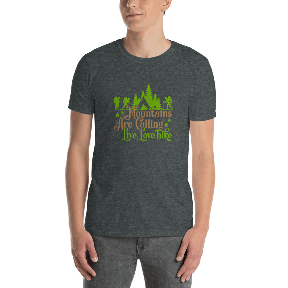 Mountains are Calling T-Shirt for Men