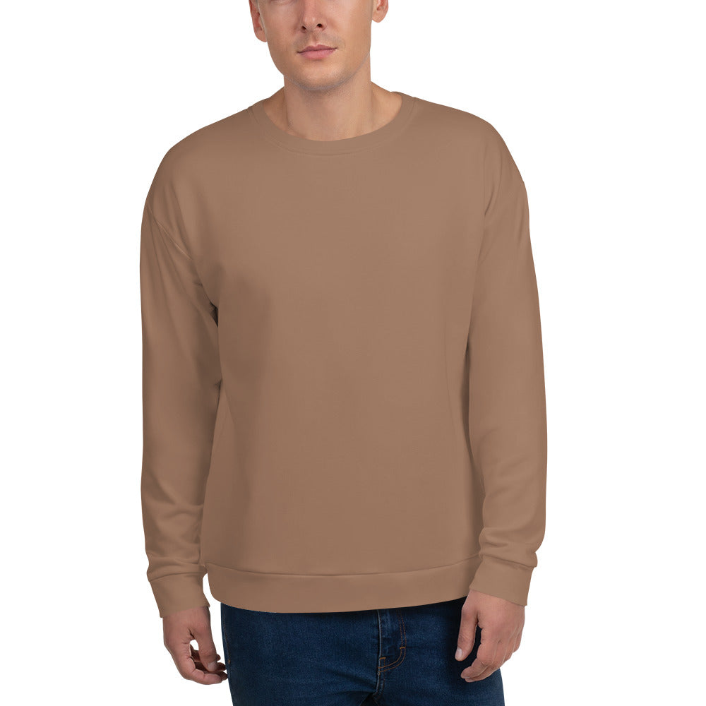 Nude Brown Unisex Sweatshirt