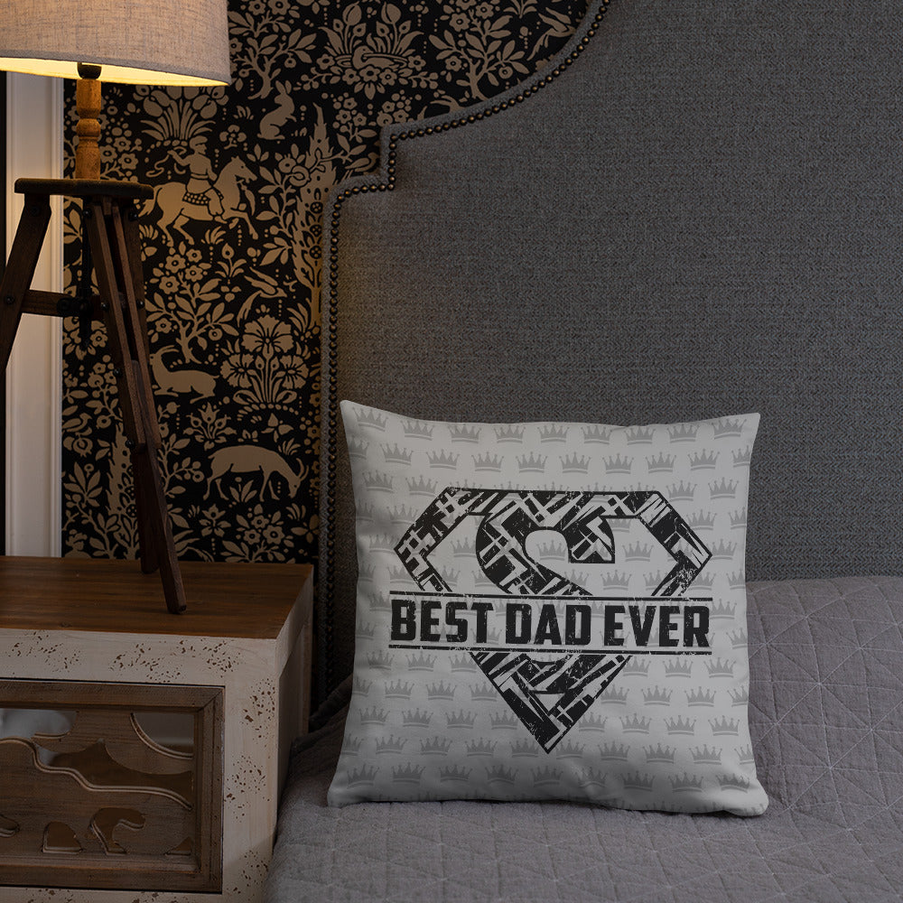 Best Dad Ever Father's Day Gift Pillow