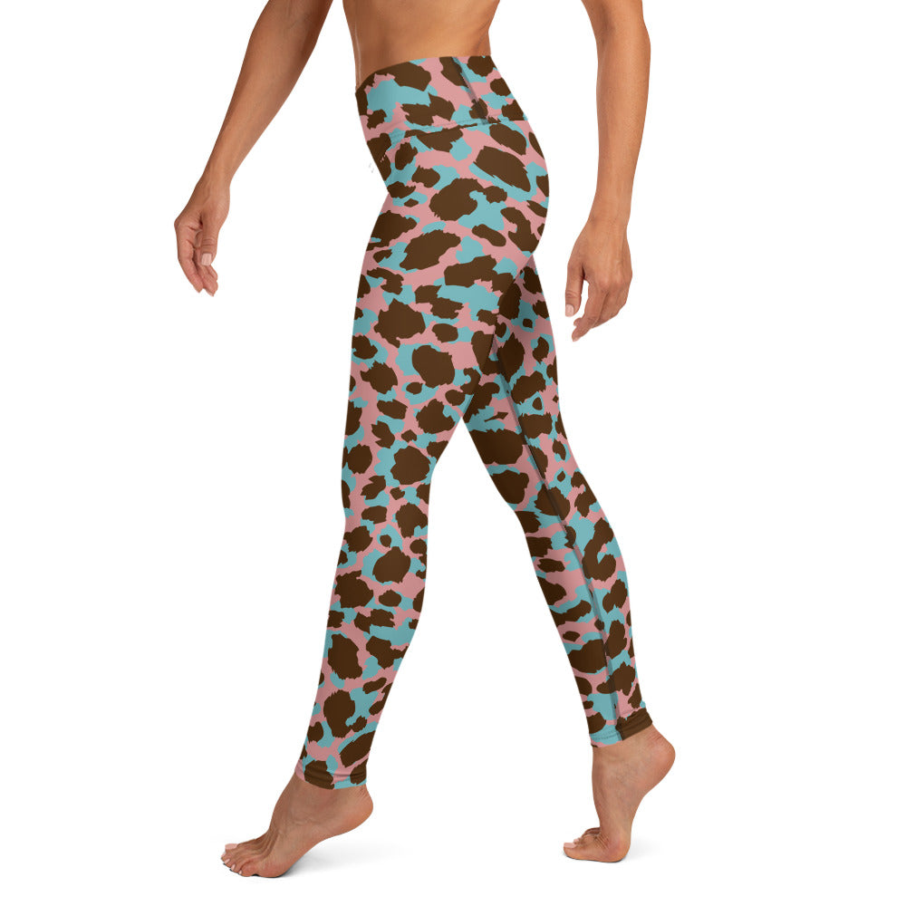Animal Print Yoga Leggings for Women