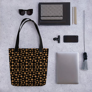 Black and Brown Tote bag