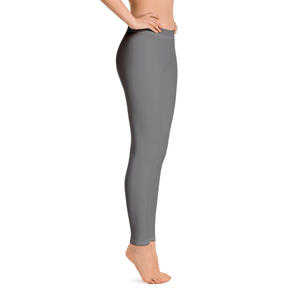 Outfits with Grey Leggings for Womens Left