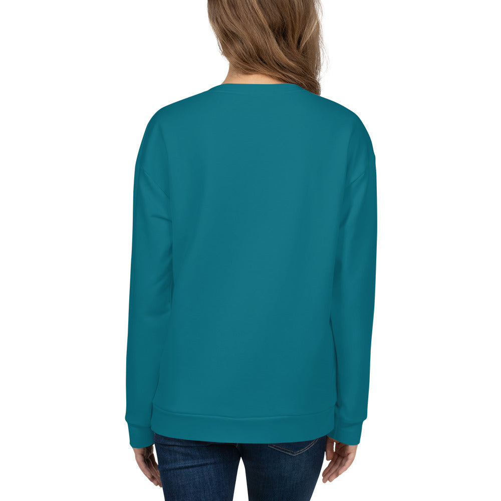 Teal Sweatshirt for Women