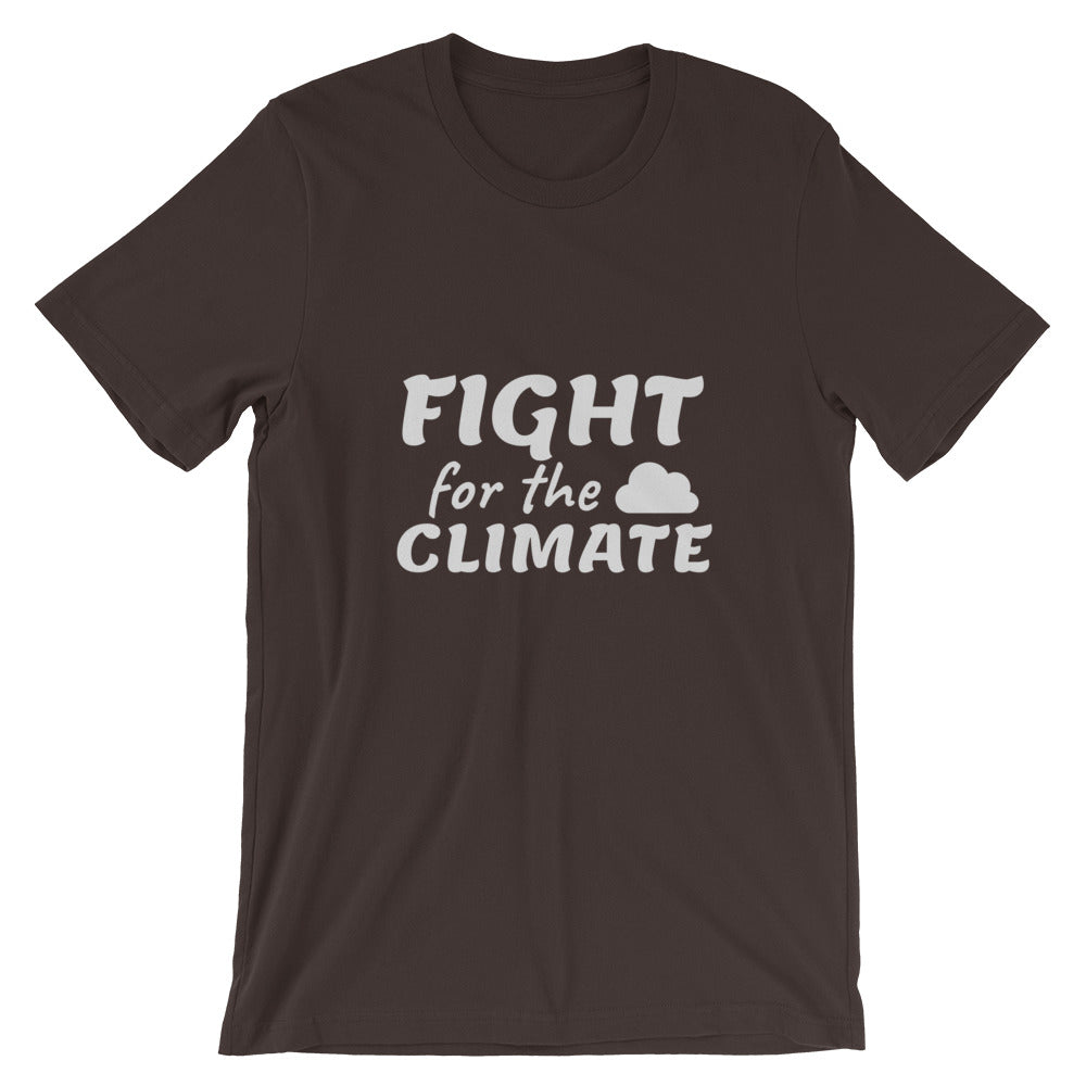 Climate Change T-Shirt Brown