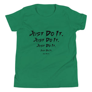 Just Do It Green T-Shirt for Girls