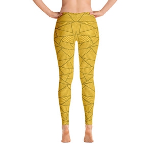 Yellow and Golden Leggings