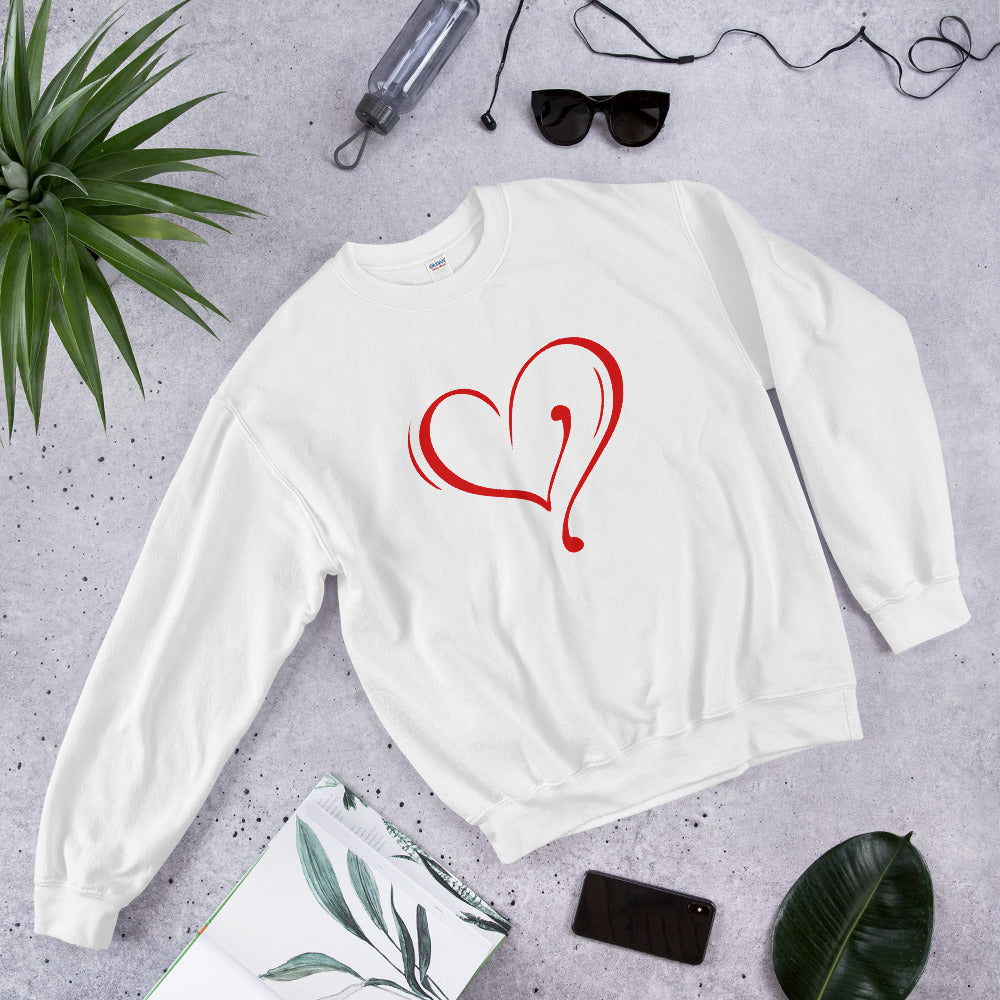 Red Heart Sweatshirt