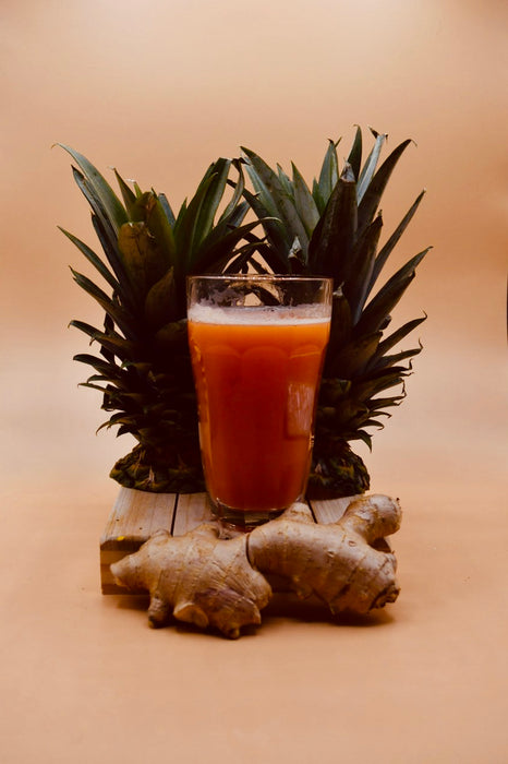 Strawberry Pineapple w/ Ginger