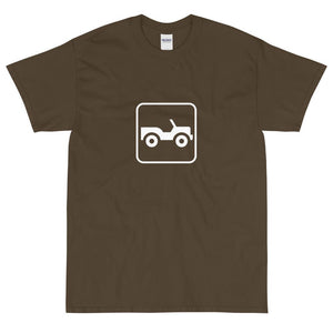 4 Wheel Drive Icon T-Shirt-Fell Casuals