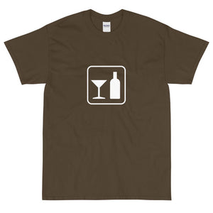 Alcohol Icon T-Shirt-Fell Casuals