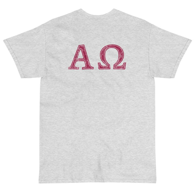 Alpha Omega T-Shirt (Red)-Fell Casuals