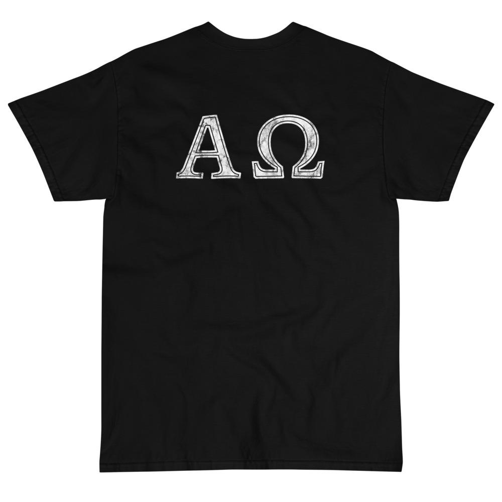 Alpha Omega T-Shirt (White)-Fell Casuals