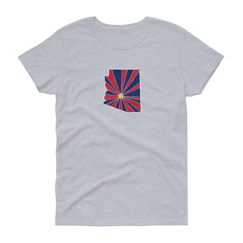 Arizona Starburst Women's Tee-Fell Casuals
