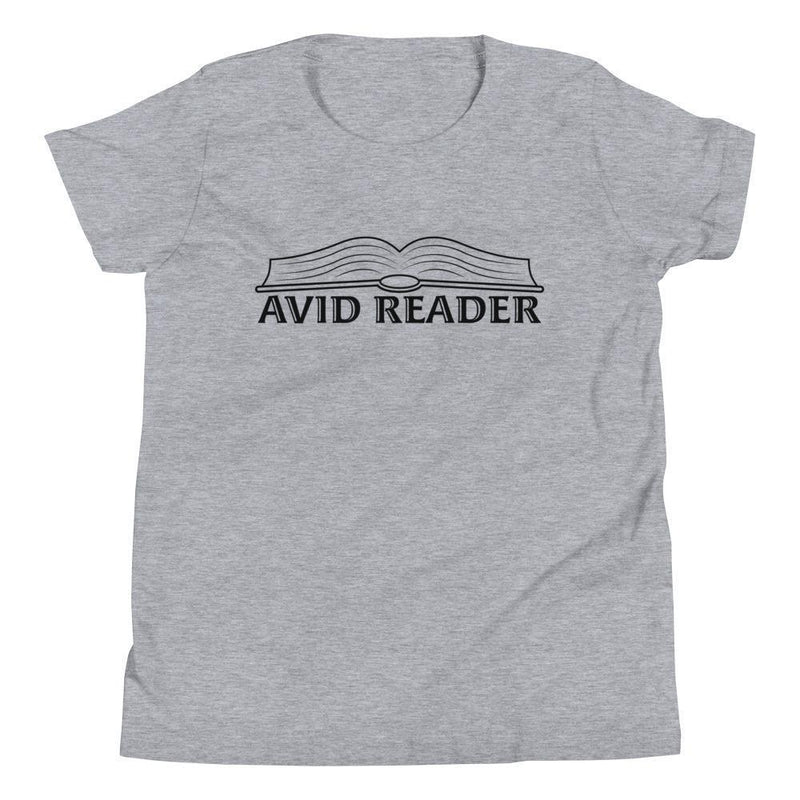 Avid Reader (Black) Youth Tee-Fell Casuals