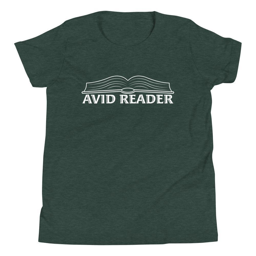 Avid Reader (White) Youth Tee-Fell Casuals