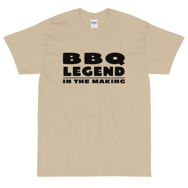 BBQ Legend in the Making (Black) T-Shirt-Fell Casuals
