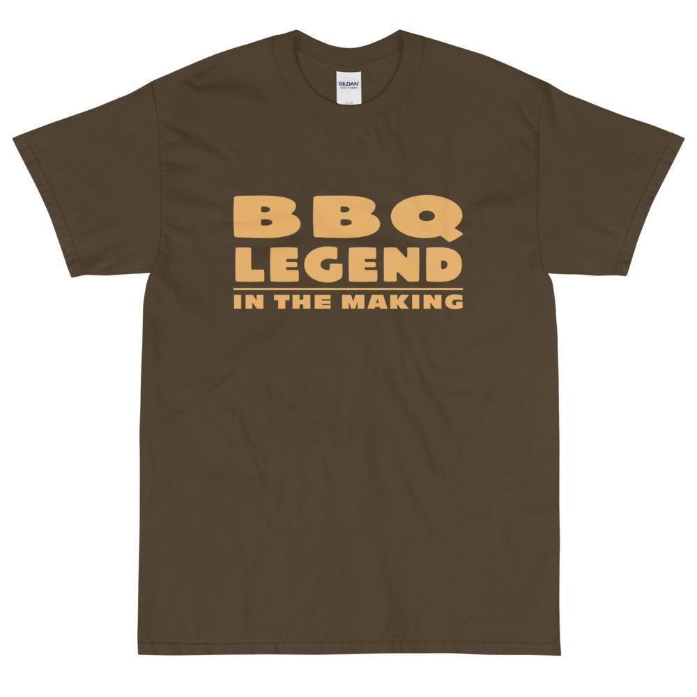 BBQ Legend in the Making (Orange) T-Shirt-Fell Casuals