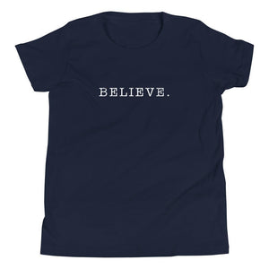 Believe. Youth Tee-Fell Casuals