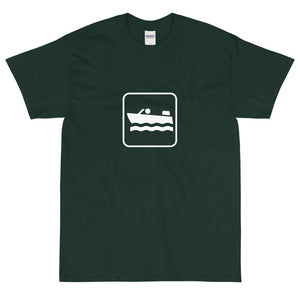 Boating Icon T-Shirt-Fell Casuals