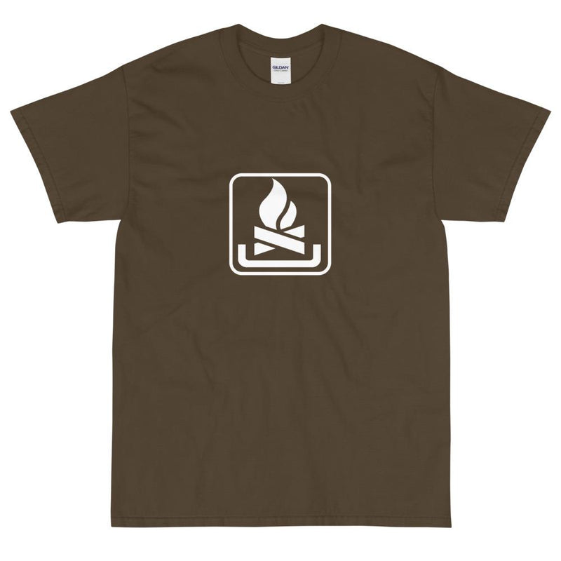 Campfire Icon T-Shirt-Fell Casuals