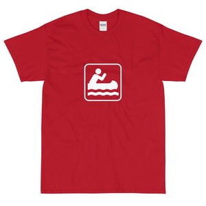 Canoeing Icon T-Shirt-Fell Casuals