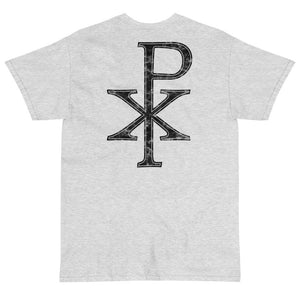 Chi Rho T-Shirt (Black)-Fell Casuals