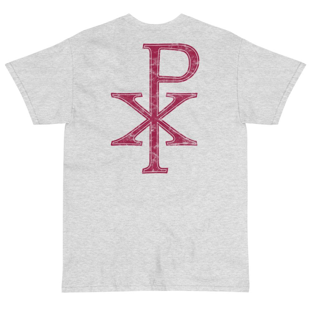 Chi Rho T-Shirt (Red)-Fell Casuals